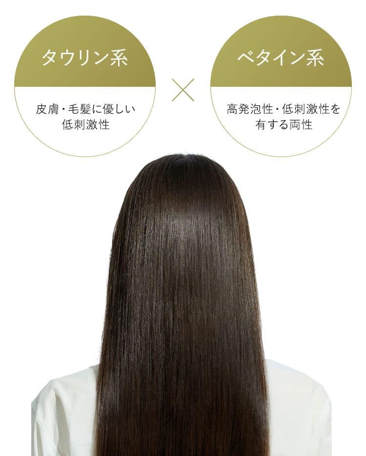タウリン系 皮膚・毛髪に優しい低刺激性 ベタイン系 高発泡性・低刺激性を有する両性